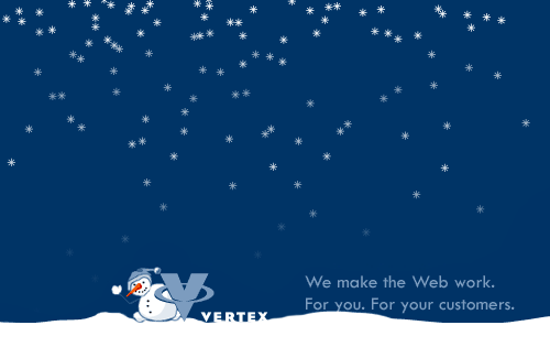 Animated Christmas Website Headers