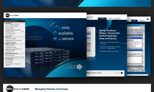 Dell EqualLogic Interactive Demo & Guide Application