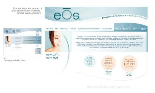 eOs Website Aesthetic Optimization