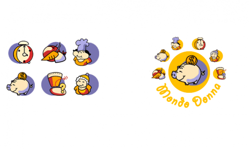 Website Icons for Mondo Donna