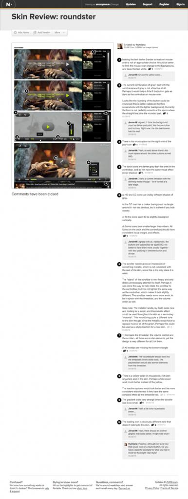 UX/UI Design Analysis: JW Player Skins – Rumiana Lazzi